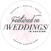 Featured on Weddings in Houston